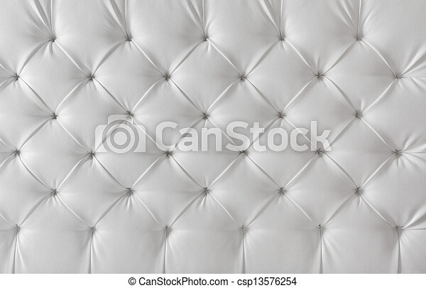 modello, fondo, struttura, tappezzeria, divano, cuoio, bianco - csp13576254
