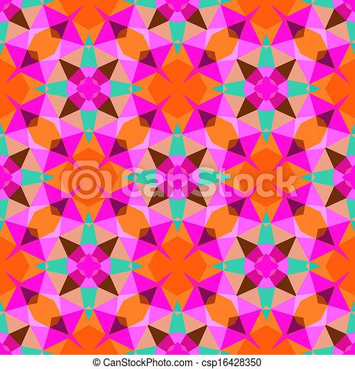 modello, luminoso, geometrico, multicolor, color. - csp16428350