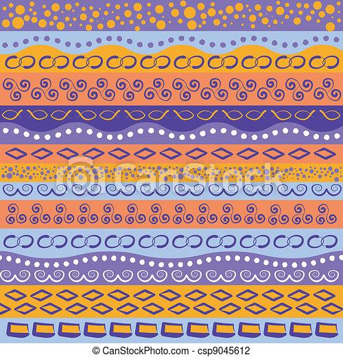 modello, striscia, colorito - csp9045612