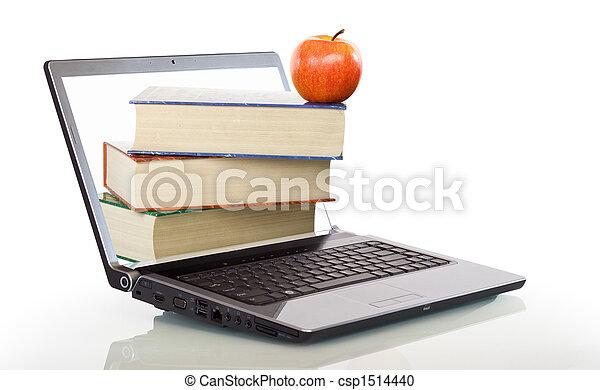 moderno, educazione, cultura, linea - csp1514440
