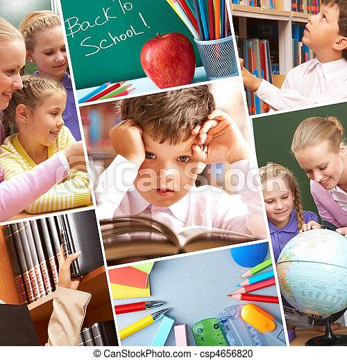 momenti, educazione - csp4656820