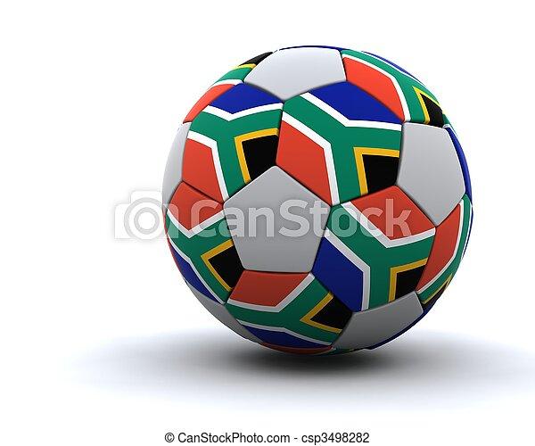 mondo, football, 2010, tazza - csp3498282