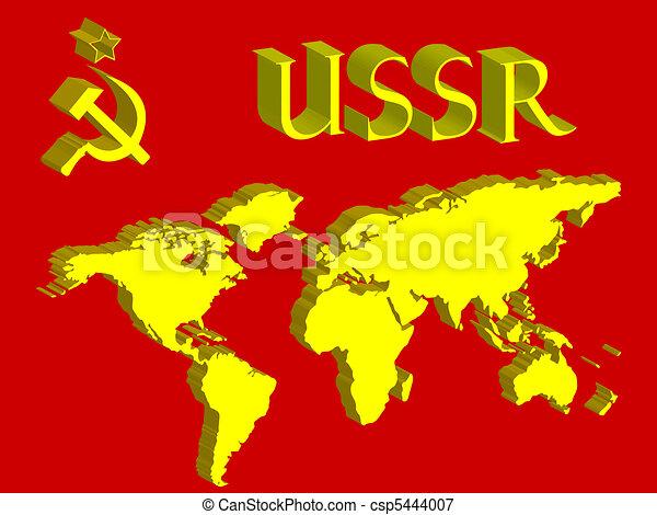 Cartina Urss.Mondo Simbolo Urss Mappa Vettore Arte Simbolo Illustrazione Urss Mappa Mondo Astratto Canstock