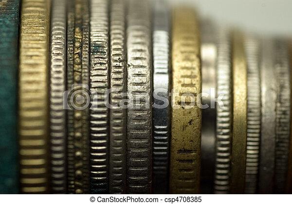 monete, lato - csp4708385