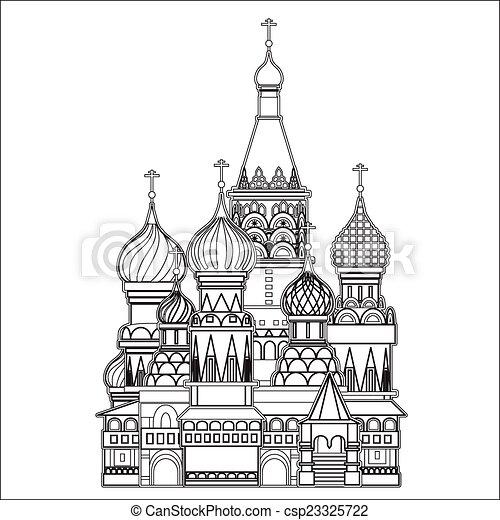 mosca, vettore, santo, basilico, cattedrale - csp23325722