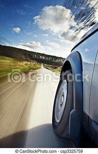 movimento, automobile - csp3325759