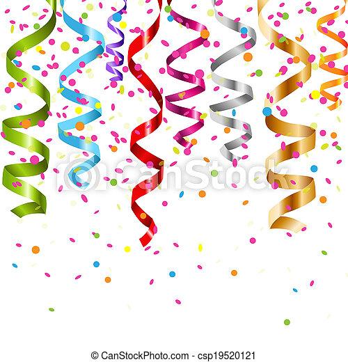 multicolor, arricciamento, flusso - csp19520121