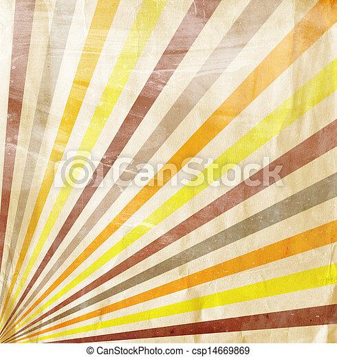 multicolor, grunge, raggi sole, fondo - csp14669869