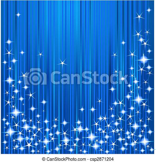 natale, strisce stelle - csp2871204