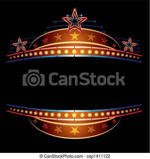 neon, stelle - csp1411122