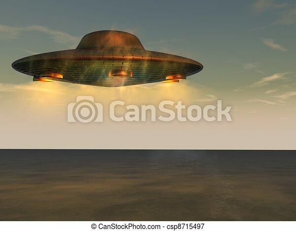 non identificato, volare, -, oggetto, ufo - csp8715497