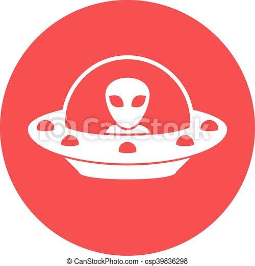 non identificato, volare, ufo, oggetto - csp39836298