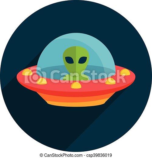 non identificato, volare, ufo, oggetto - csp39836019