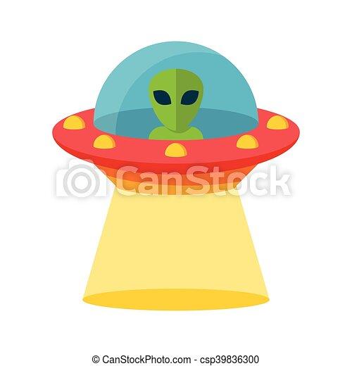non identificato, volare, ufo, oggetto - csp39836300