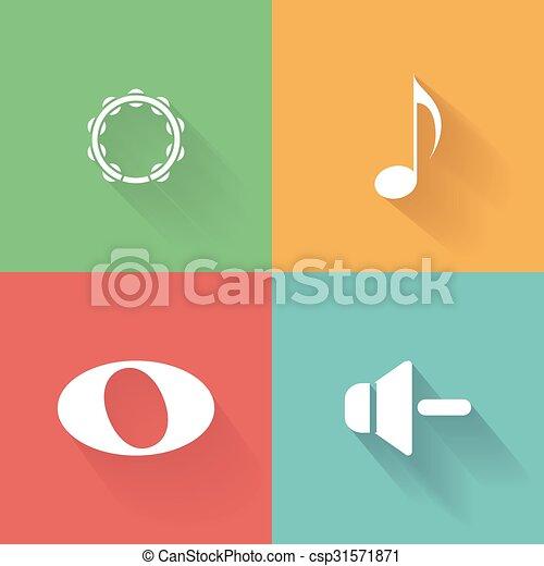 nota, musicale - csp31571871