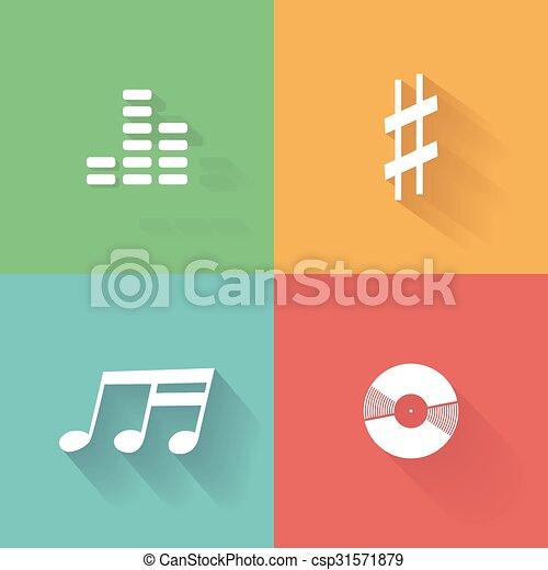nota, musicale - csp31571879