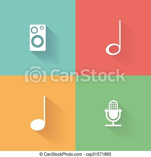 nota, musicale - csp31571865