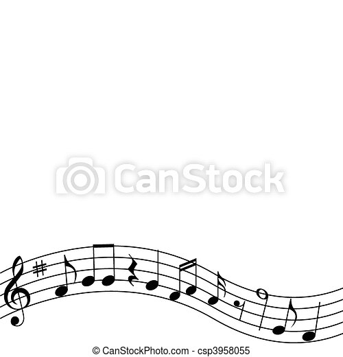 note musicali - csp3958055