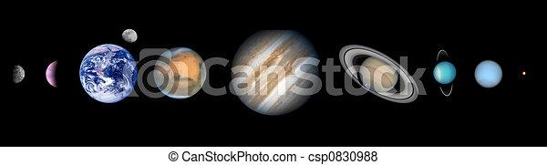 nove, pianeti - csp0830988