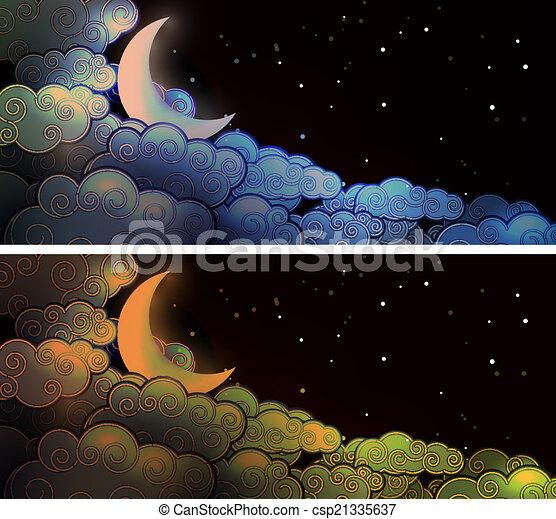 nubi, luna - csp21335637