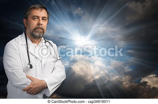 o, religione, scienza - csp34916011