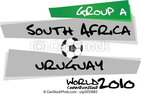outh, vs, africa, uruguay - csp3033663
