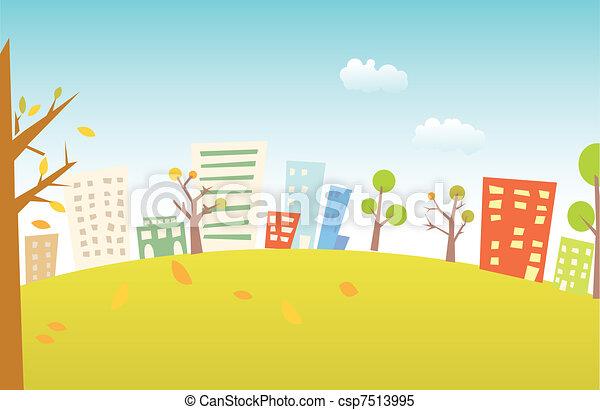 paesaggio urbano - csp7513995
