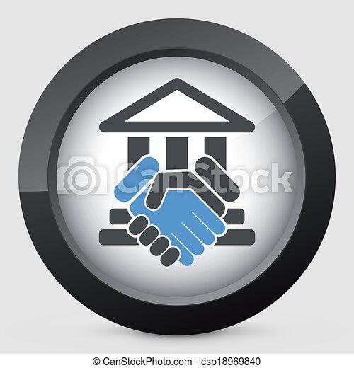 palazzo di giustizia, accordo - csp18969840