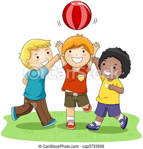 palla, gioco - csp3733506
