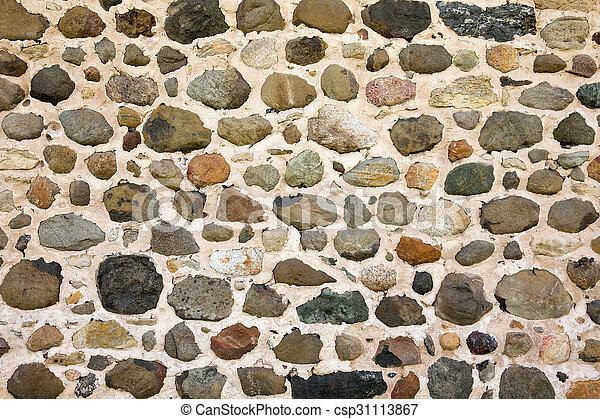 parete, fondo, pietra, campo - csp31113867