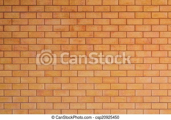 parete, fondo., rosso, struttura, mattone - csp20925450