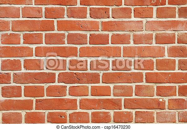 parete, mattone - csp16470230