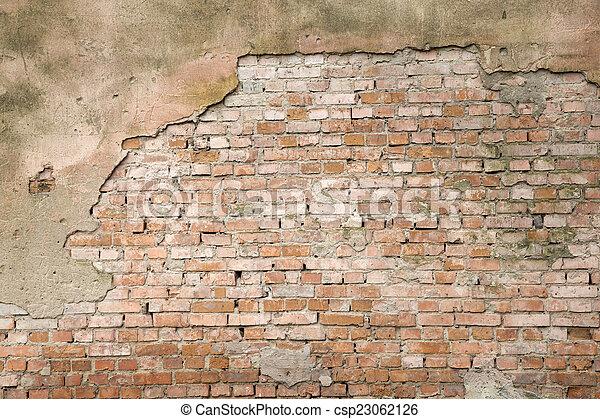 parete, mattone - csp23062126