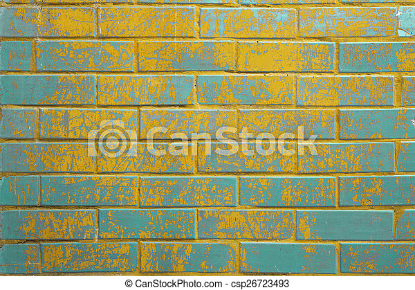 parete, mattone, fondo, struttura, colorito - csp26723493