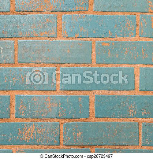 parete, mattone, fondo, struttura, colorito - csp26723497