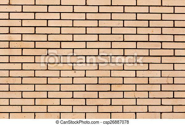 parete, mattone, fondo, struttura, colorito - csp26887078