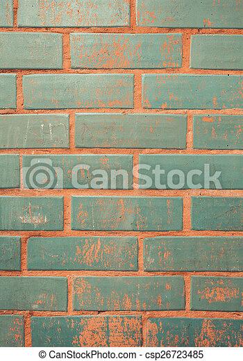 parete, mattone, fondo, struttura, colorito - csp26723485