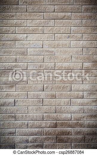 parete, mattone, fondo, struttura, colorito - csp26887084