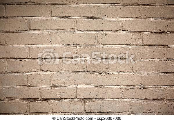 parete, mattone, fondo, struttura, colorito - csp26887088