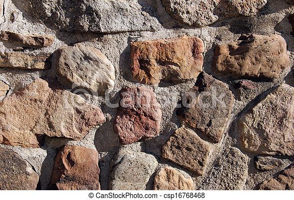 parete, pietra, fondo - csp16768468