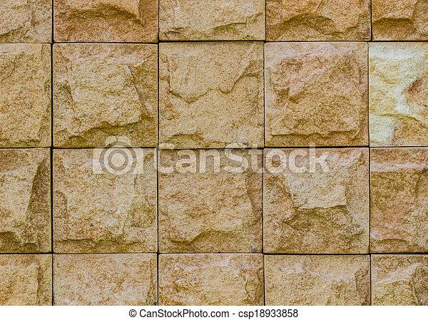parete, struttura pietra, fondo - csp18933858