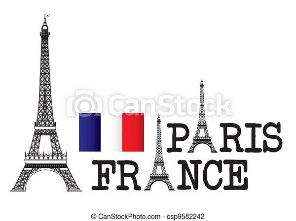 parigi francia - csp9582242