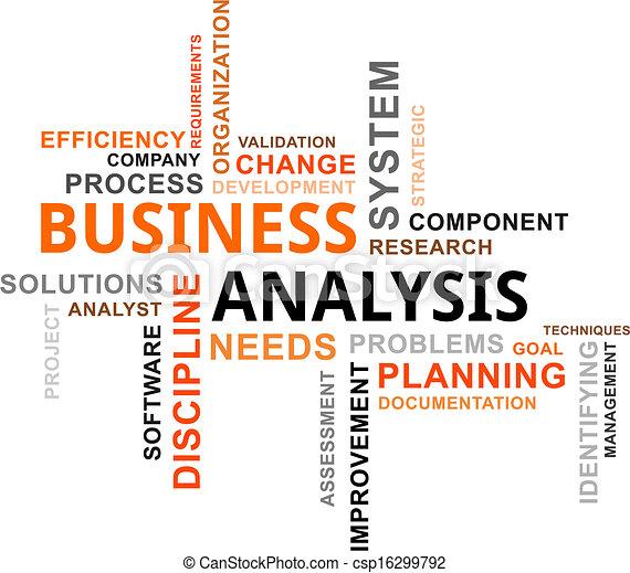 parola, nuvola, -, affari, analisi - csp16299792