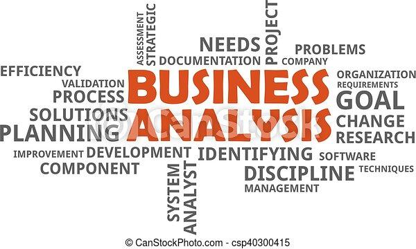parola, nuvola, -, affari, analisi - csp40300415
