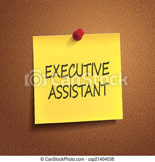 parole, assistente, posto-esso, esecutivo - csp21404038