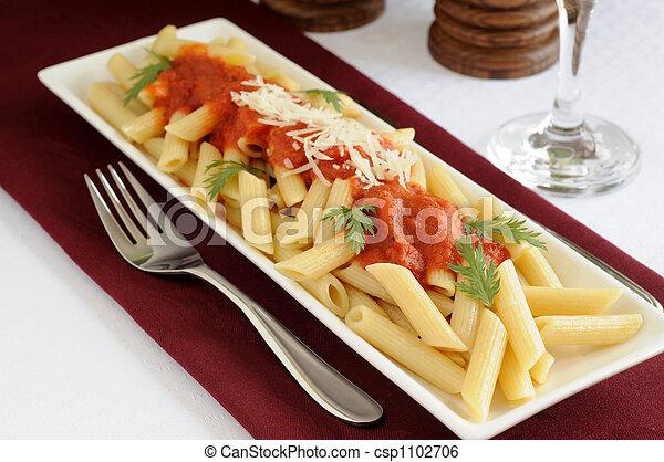 pasta, penne - csp1102706