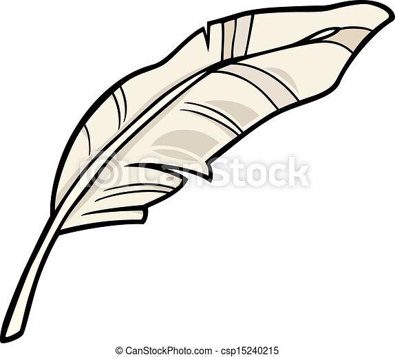 penna, arte, cartone animato, illustrazione, clip - csp15240215