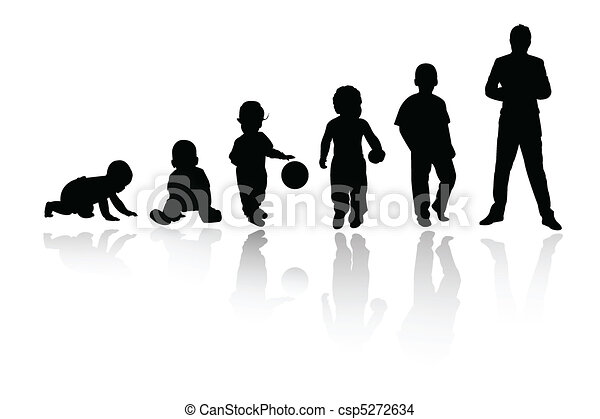persona, silhouette - csp5272634