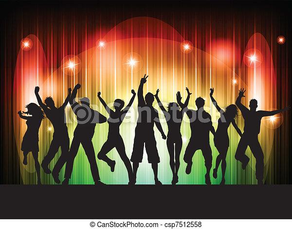 persone, ballo - csp7512558