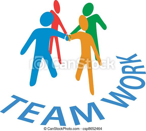 persone, collaborazione, unire, lavoro squadra, mani - csp8652464